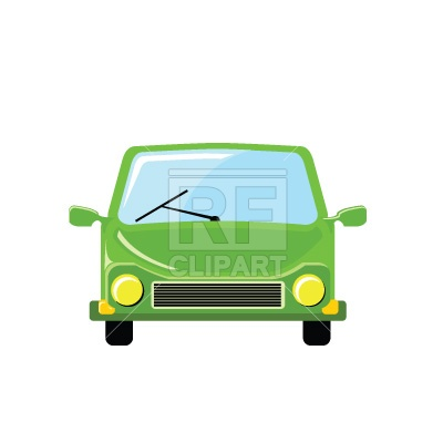 400x400 Small Compact Economy Car Royalty Free Vector Clip Art Image
