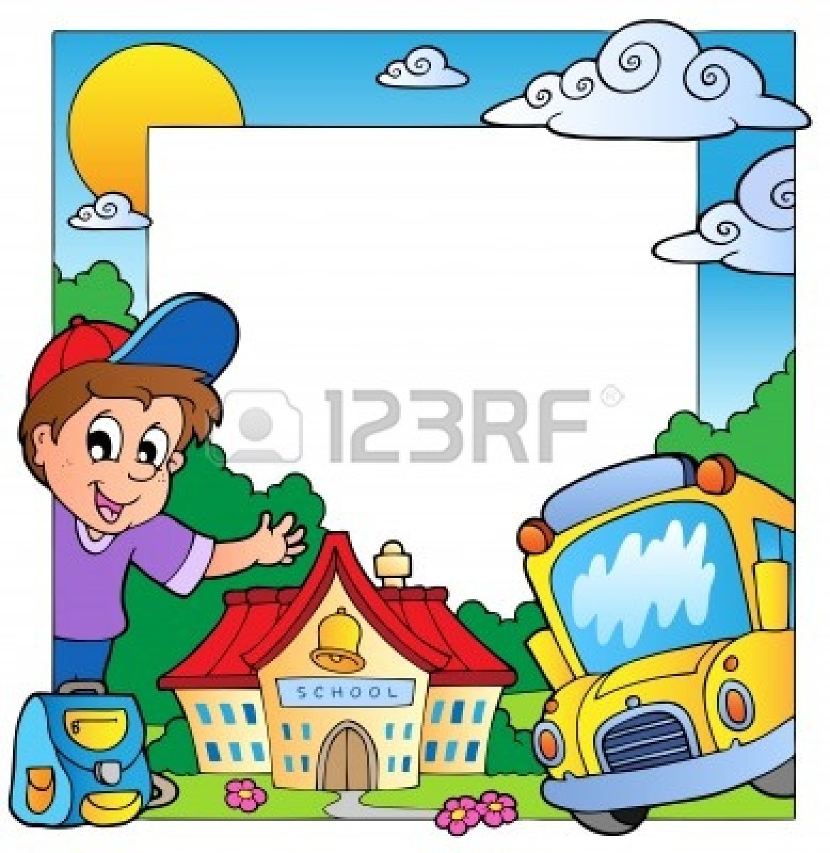 1167x1200 Educational Borders Clip Art
