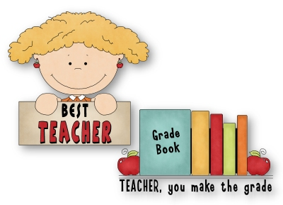 400x289 Best Teacher Ever Clipart