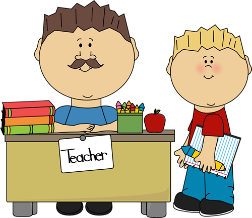500x434 Teacher Clip Art