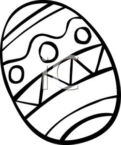 250x300 Easter Egg Clip Art Black And White Cliparts