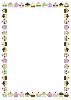 247x350 This Page Border Was Designed To Match My Popular Birthday Chart
