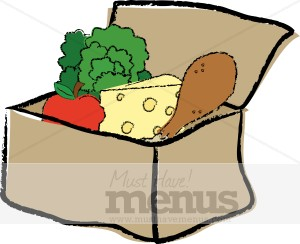 300x244 Empty Egg Carton Clipart Lunch Box
