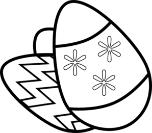 298x261 Easter Clip Art Black And White Many Interesting Cliparts