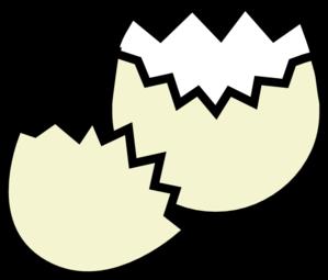 299x255 Broken Egg Clipart Black And White
