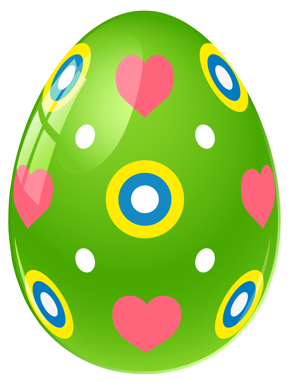983x1297 Free Easter Egg Clip Art Image