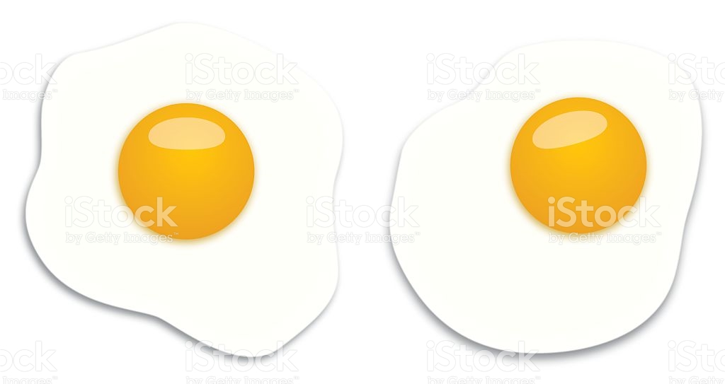 1024x543 Fried Egg Clipart Yolk