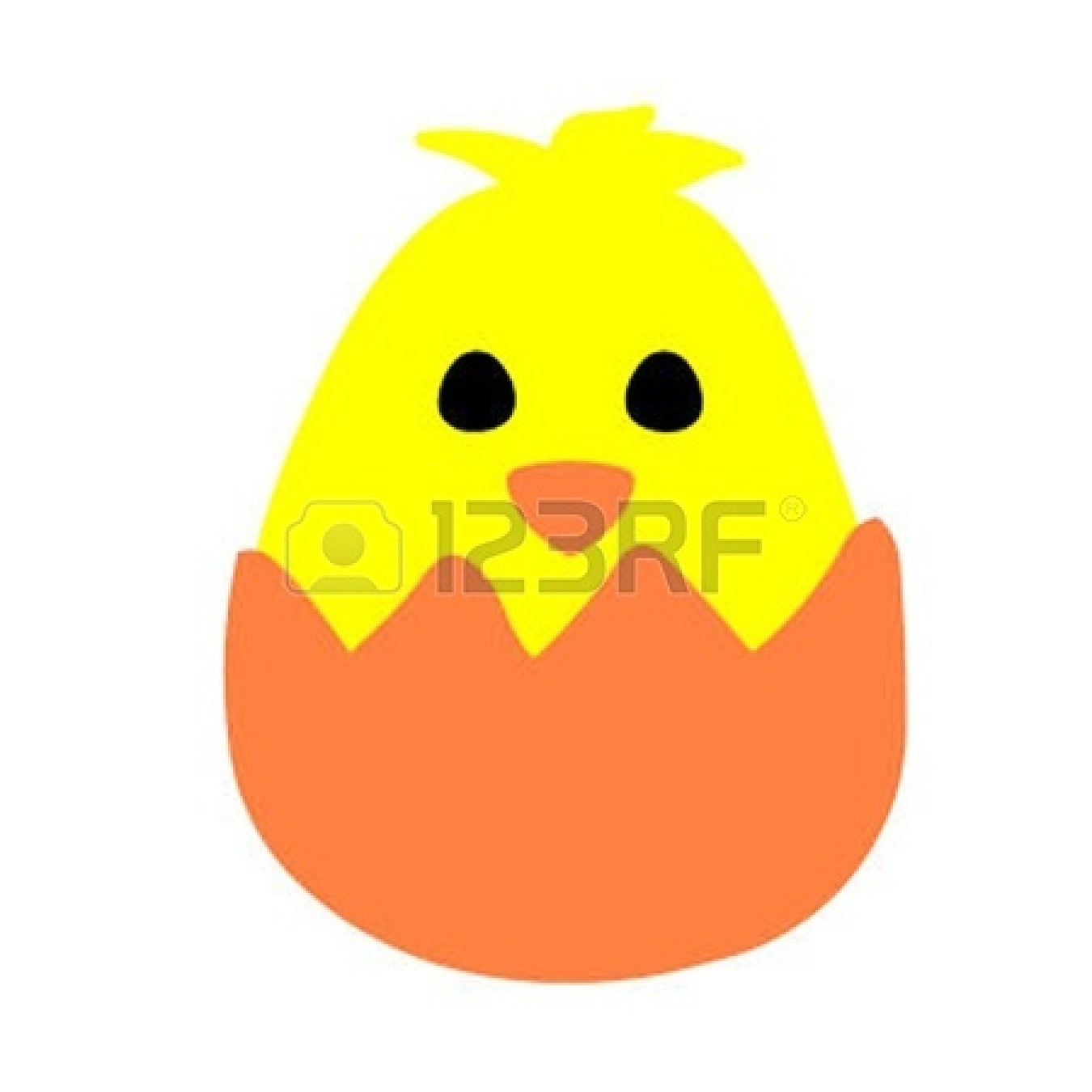 1350x1350 Clipart Duckling Egg From Hatches