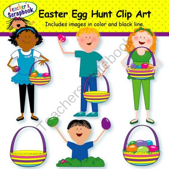 Egg Hunt Clipart