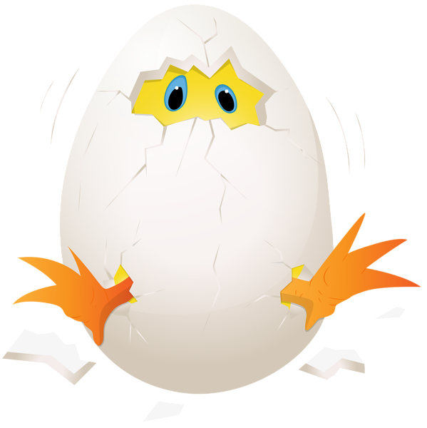 599x600 Easter Chicken In Egg Png Clip Art Image Easter Clip