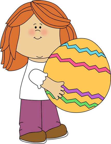 427x550 Easter Clipart Child