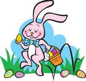 288x272 Easter Egg Hunt Kids Clipart