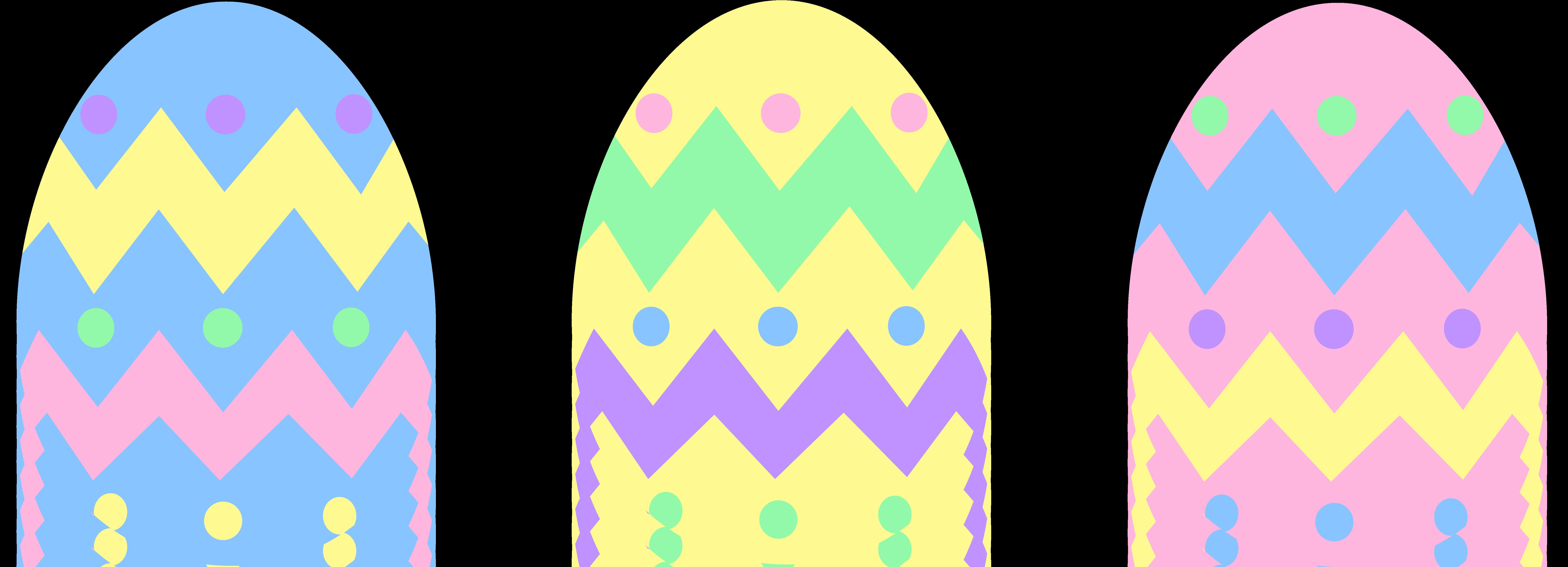 7655x2769 Top 81 Easter Eggs Clip Art