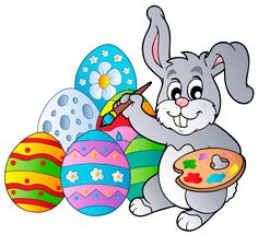 236x215 Chick Sitting On Easter Eggs Easter Clip Art