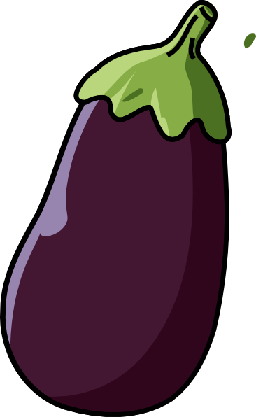 366x596 Eggplant Clip Art
