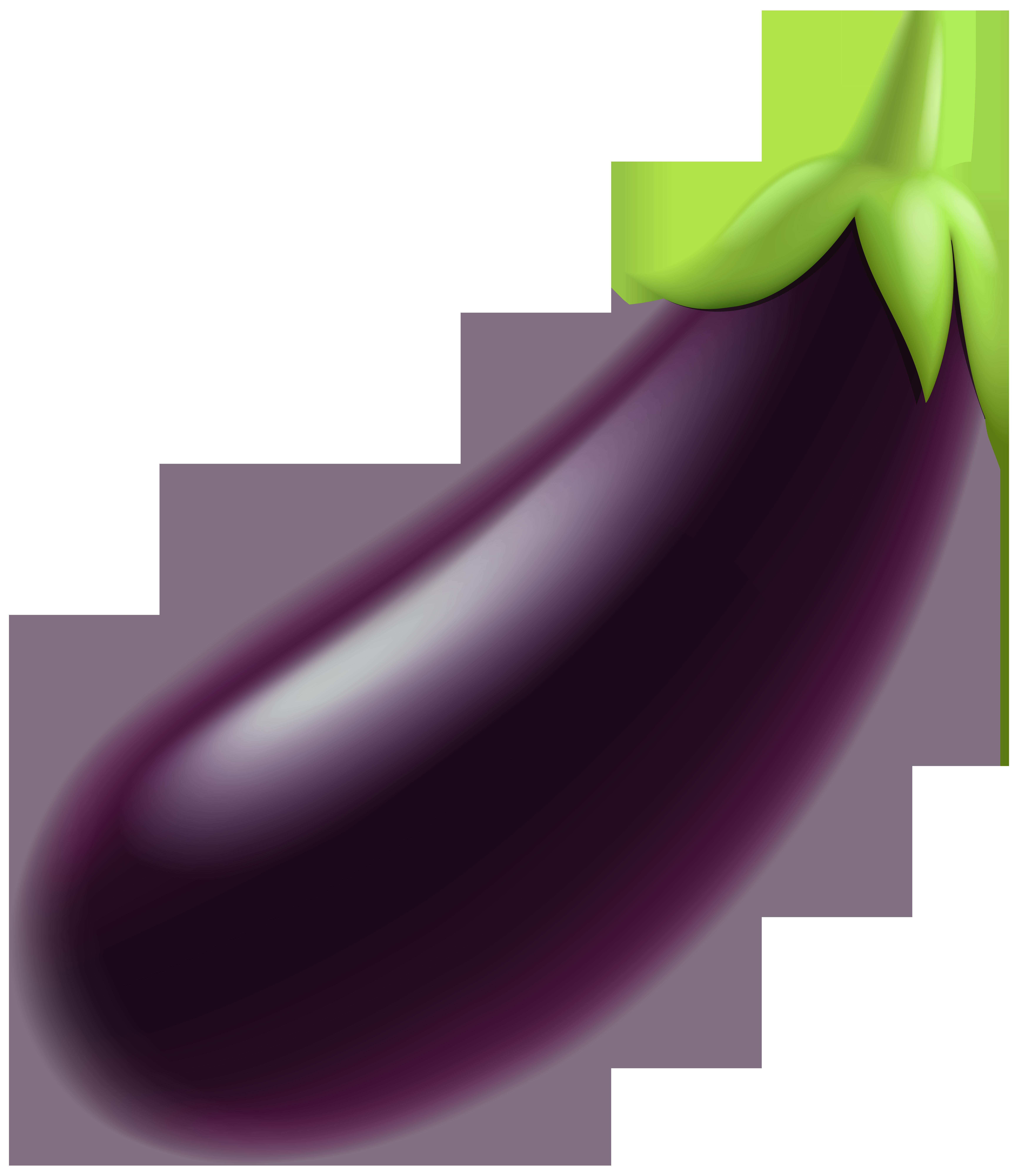 6924x8000 Eggplant Png Clip Art