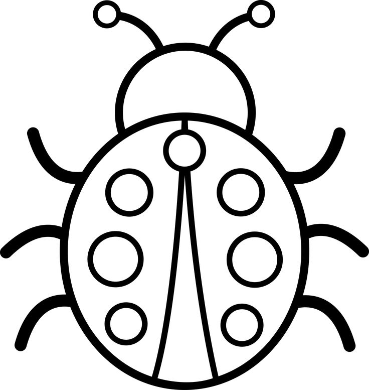 736x777 Ladybug Silhouette Clip Art