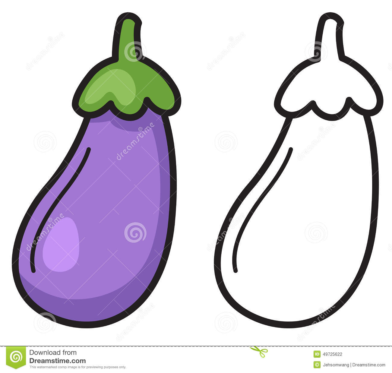 1300x1237 Eggplant Clipart Objects