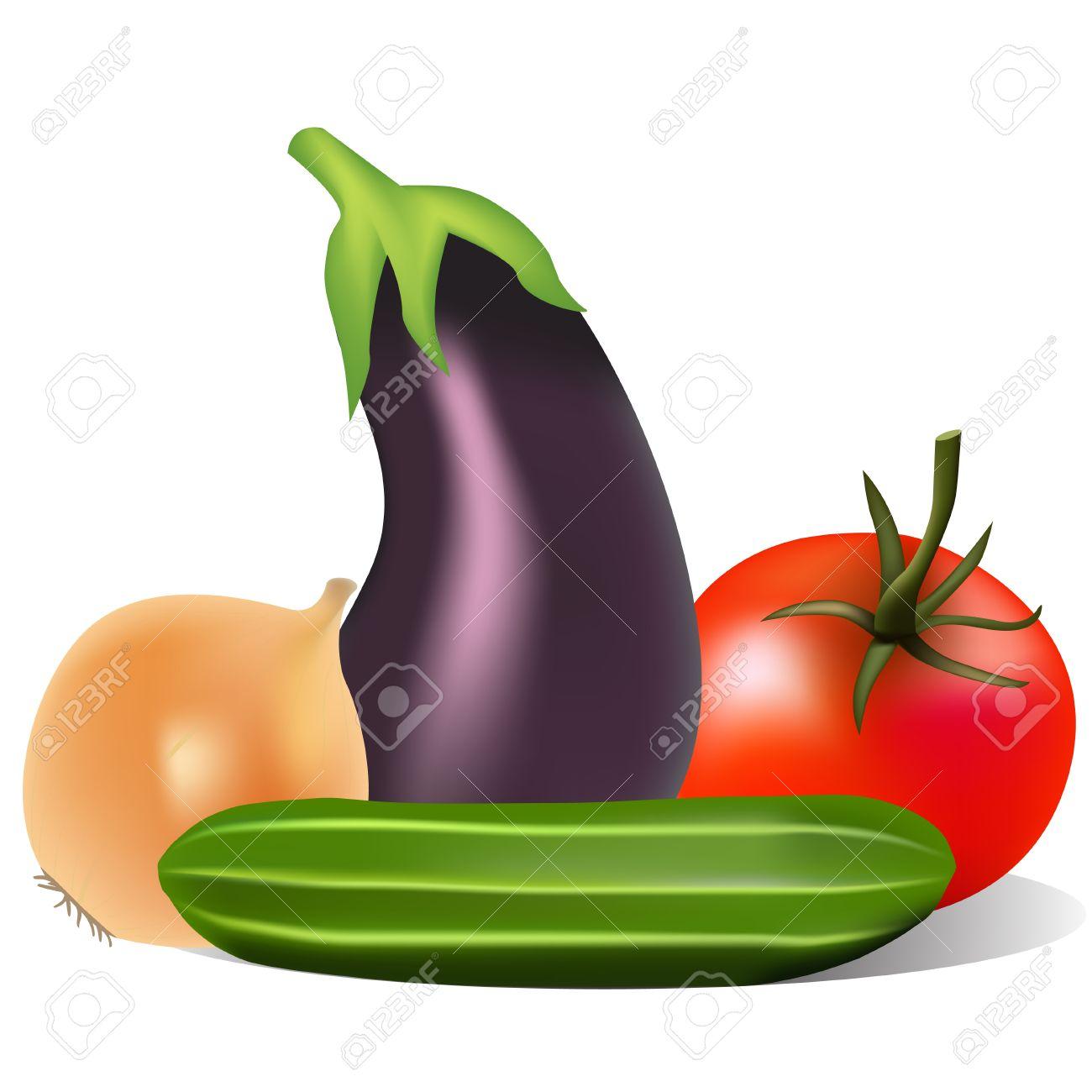 1300x1300 Tomato Clipart Eggplant Plant