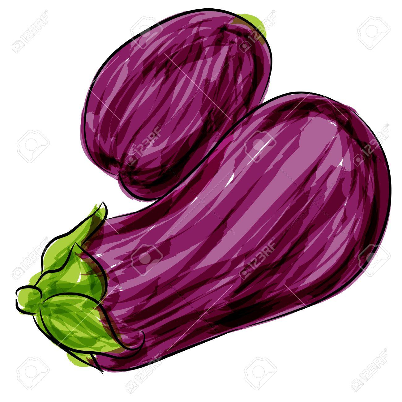 1300x1300 Eggplant Clipart Purple Thing