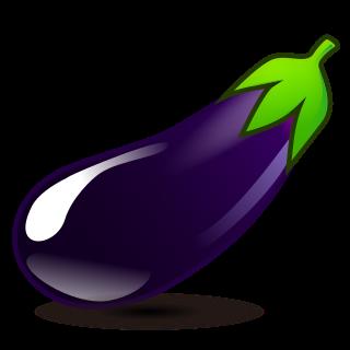 320x320 Eggplant Emojidex