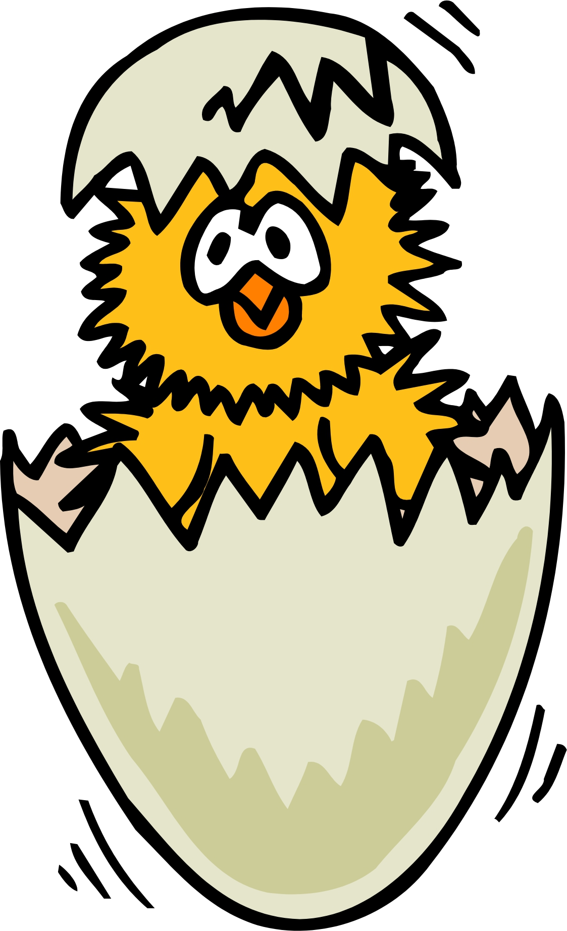 1123x1843 Free Clipart Animation Hatching Egg