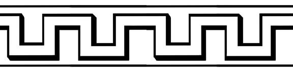 576x144 Egyptian Clipart Egyptian Border