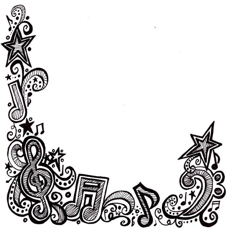 736x736 Best Music Border Ideas Clip Art Microsoft