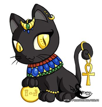 Egyptian Cat Clipart