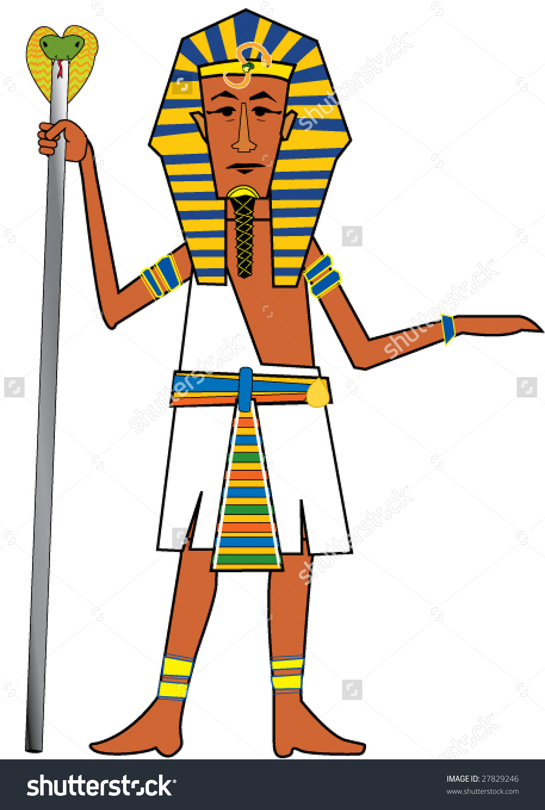 1076x1600 Egyptian Clipart Pharaoh