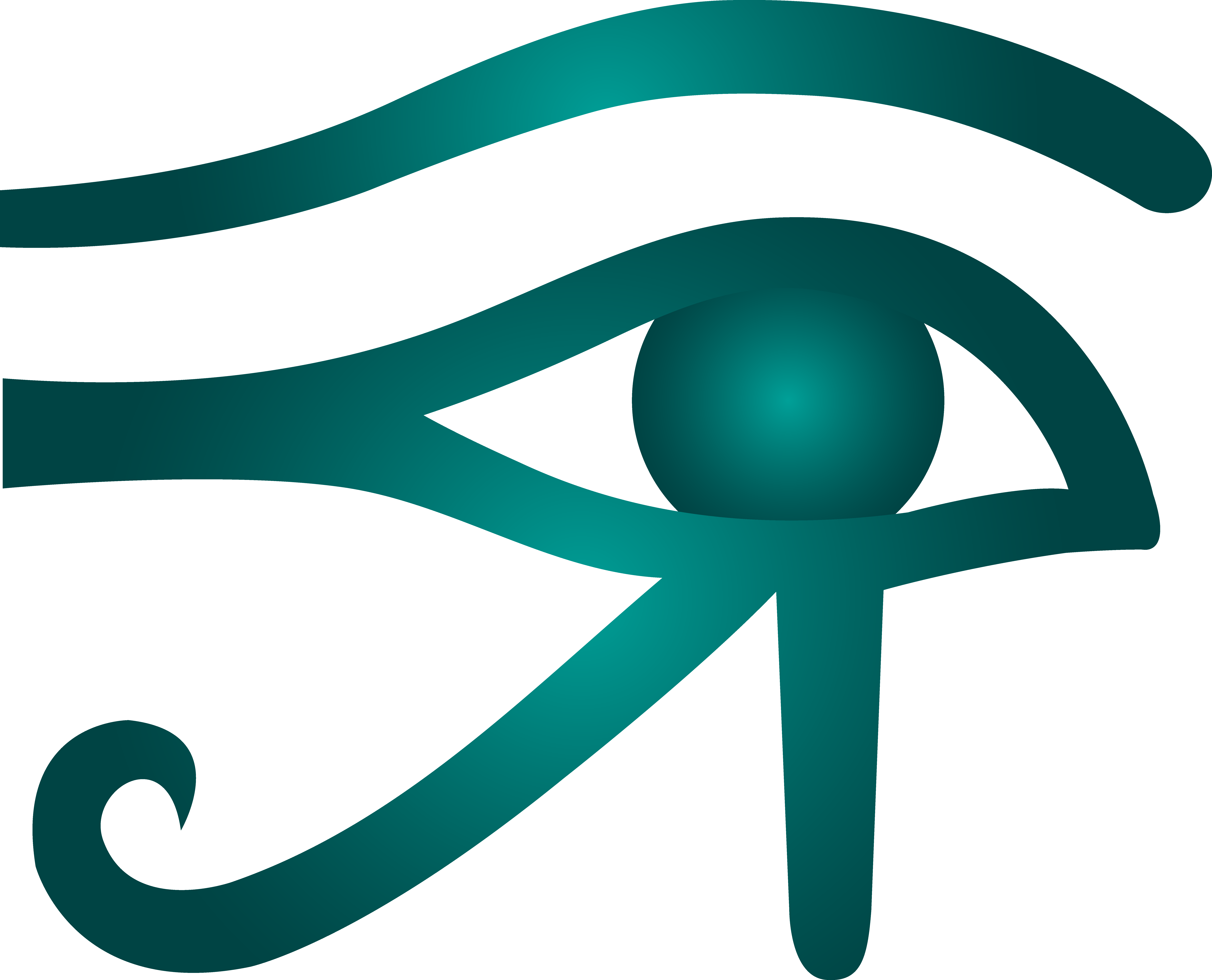 8537x6900 Blue Eye Of Horus Symbol