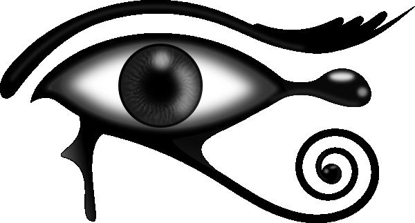 600x323 Egyptian Eye Clip Art