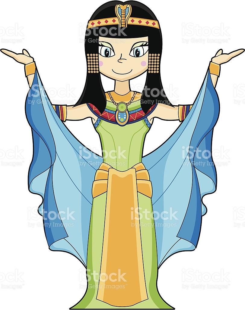 812x1024 Egyptian Clipart Cleopatra
