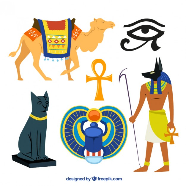626x626 Egyptian Culture Illustrations Vector Free Download