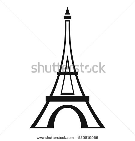 450x470 Eiffel Tower Clipart Vector