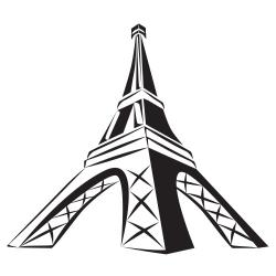250x250 Eiffel Tower Clipart
