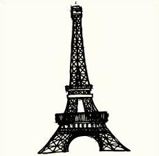 232x227 Free Eiffel Tower Clipart