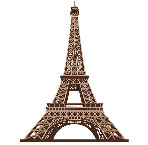 612x600 Skillful Design Eiffel Tower Clip Art Vector Images Illustrations