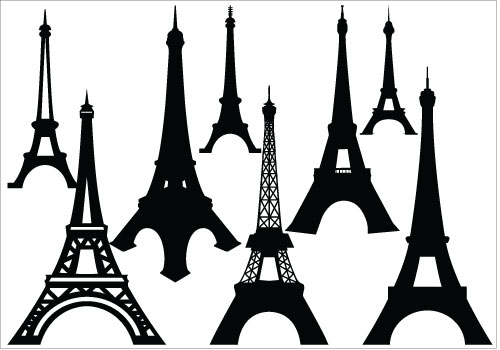 500x350 Eiffel Tower Clipart