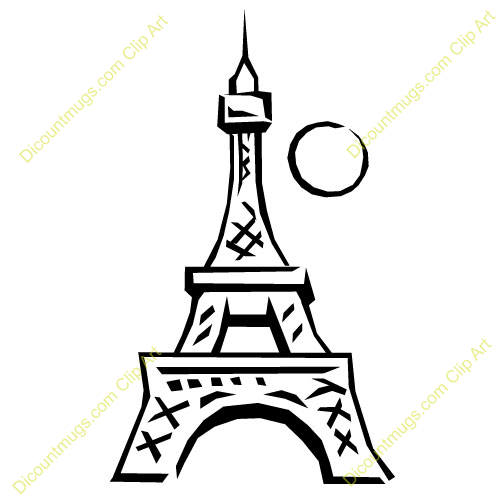 500x500 Eiffel Tower Clipart Animated