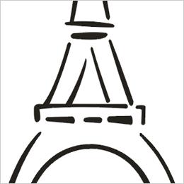 260x260 Eiffel Tower Clip Art 2