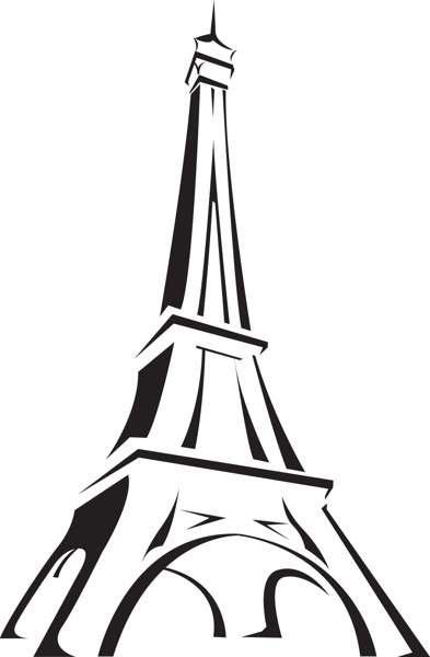 393x600 Eiffel Tower Clip Art Craft Projects Building Clipart Clipartoons