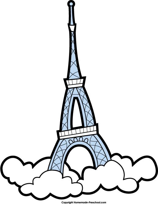 517x668 Landmark Clipart Eiffel Tower