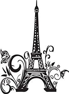 220x300 Drawn Eiffel Tower Cute