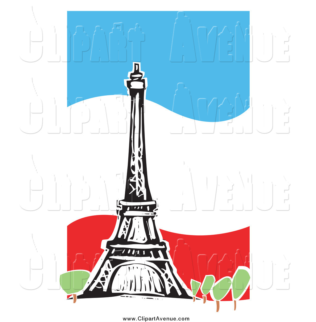 Eiffel Tower Clipart Free