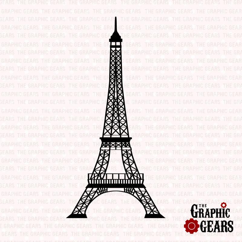 800x800 Eiffel Clipart