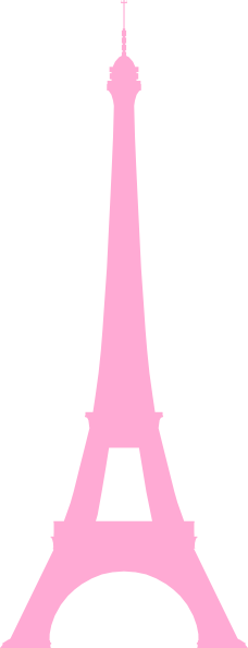 228x594 La Tour Eiffel (Eiffel Tower) Clip Art
