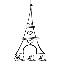 250x250 Eiffel Tower Clipart Easy Draw