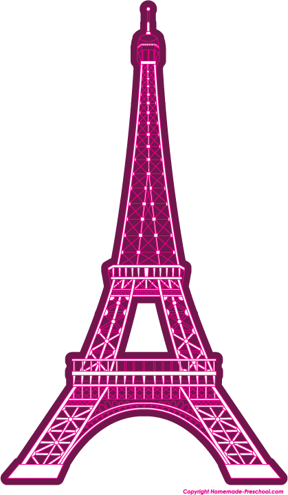 419x719 Eiffel Tower Line Drawing Clipart Free Clip Art Images Image 6 5