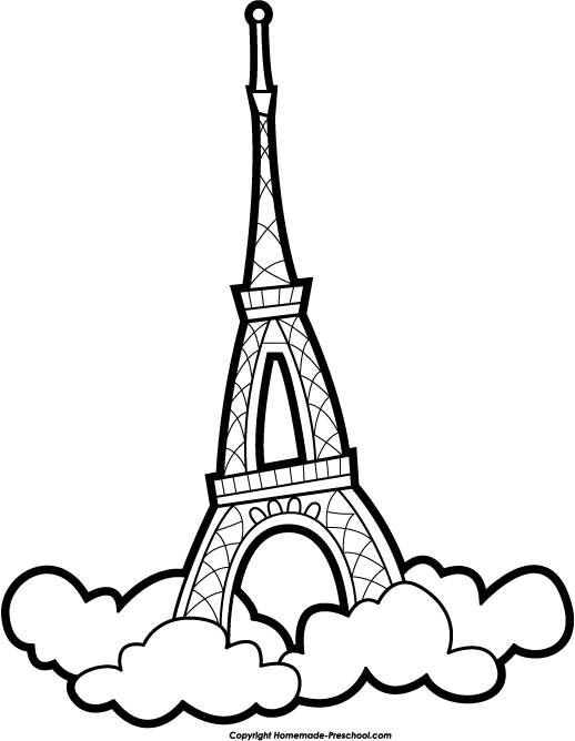 518x668 Tower Clipart Drawing